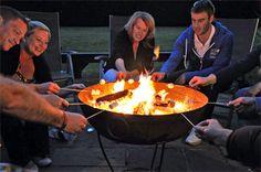 Kadai Fire Bowl - The Original Recycled Kadai Firebowl ®