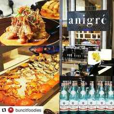 Go see Anigre's review on @buncitfoodies.  #Anigre #restaurant #foodphotography #hotel #luxury #finedining #instafood #foodies