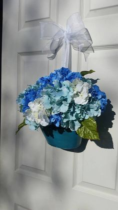 Check out this item in my Etsy shop https://www.etsy.com/listing/288308697/hydrangea-floral-wreath-beautiful-blue