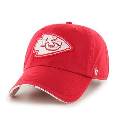 timeless design 307ef b18ac Kansas City Chiefs Olivia Clean Up Red 47 Brand Womens Hat