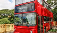 Busman's holiday in Devon: vintage double-decker converted into a quirky Agatha Christie-inspired holiday home with cocktail bar Family Bar, Devon Holidays, Devon Coast, Unusual Buildings, Double Decker Bus, North Devon, Red Bus, Unusual Homes, Mystery Novels