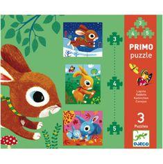 #Puzzle #Djeco 3 kon