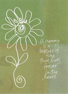 A memory....