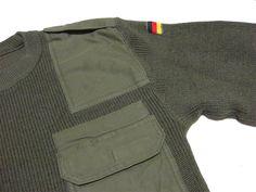 ドイツ軍コマンドセーターXL/ヨーロッパミリタリー古着ニット_画像2
