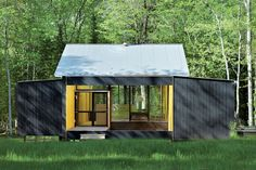 Prefab summer home in northern Wisconsin