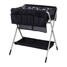 Use a foldable changing table.