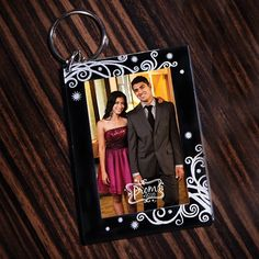 Prom 2016 Photo Key Chain-Prom Favors