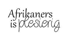 Praat jy Afrikaans