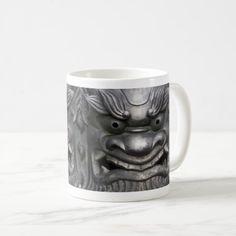 Onigawara Coffee Mug - home gifts ideas decor special unique custom individual customized individualized