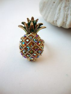 Vintage Pineapple Ring