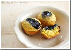 Blueberry Button Donuts–Baked!