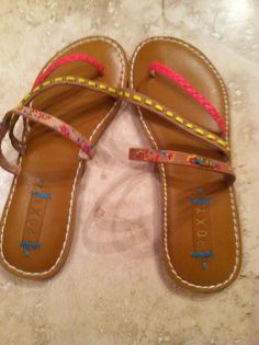 Adorable ROXY leather Sandals* NEW IN BOX* in Sandals & Flip Flops | eBay