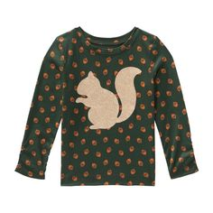 Toddler Girls' Glitter Animal Graphic Tee - we have this one!