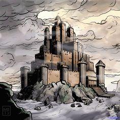 desenho de castelo medieval para colorir - Pesquisa Google