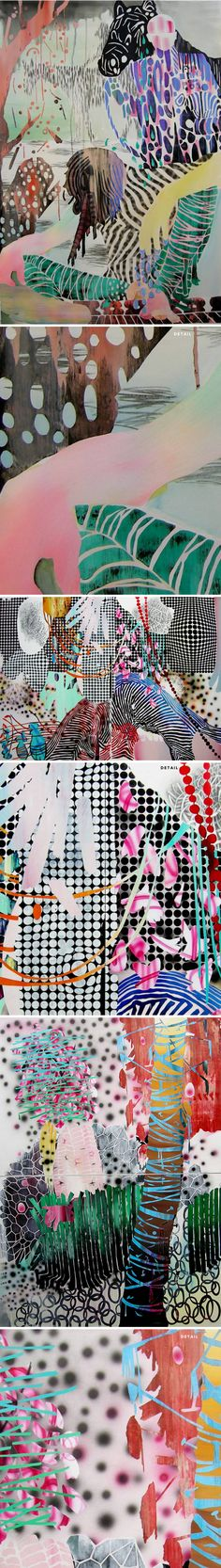 carlson hatton- contemporary art that I really would want for my brand.