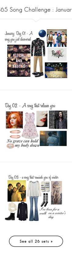"""""""365 Song Challenge : January"""" by ballerinahippie on Polyvore featuring PS Paul Smith, men's fashion, menswear, Thom Browne, M.i.h Jeans, prAna, CHARLES & KEITH, Velvet by Graham & Spencer, Lands' End and Lauren Ralph Lauren"""
