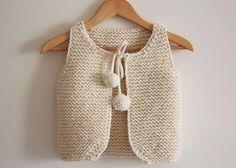 Lil Shepherd - Gilet de berger bébé à adulte - Tricot - Tutoriels de tricot chez Makerist