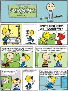 Classic Peanuts Gang