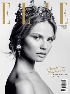 Magdalena Frąckowiak for Elle Poland September 2013 Cover