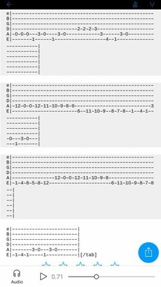 Easy Guitar Tabs, Learn Guitar Chords, Guitar Chords For Songs, Ukulele Chords, Music Theory Guitar, Guitar Sheet Music, Guitar Chord Chart, Ukulele Fingerpicking Songs, Fingerstyle Guitar