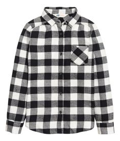 Flannel Shirt   Red/checked   Kids   H&M US