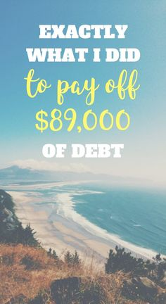 Not going to lie, paying off debt feels REALLY REALLY good. Read how to pay off your debt.