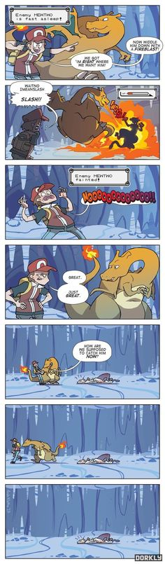 This is one of the stuff I totally hate about pokemon games.  Why can't you catch a pokemon taht fainted when it always does in the anime?