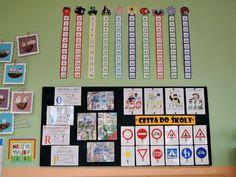 Násobkové pásy a nástěnka na začátek šk. roku - 2. třída: Preschool Learning, Learning Activities, School Decorations, Pre School, Diy And Crafts, Teacher, Classroom, Education, Words