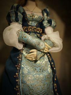 Beatrice. Handmade doll, OOAK Art Dolls, Sequin Skirt, Romantic, Unique, Handmade, Dresses, Fashion, Vestidos, Moda