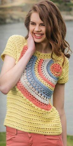 Irish crochet &: CROCHET BLOUSE....... БЛУЗА КРЮЧКОМ