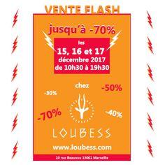 Ce weekend dans la boutique au 10 rue Beauvau 13001 Marseille, jusqu'à -70% de réduction sur vos achats ! Pour vos cadeaux de fin d'année profitez en pour offrir des cadeaux originaux et éthiques. Pour le Weekend du 15 au 17 décembre. Ouverture tout le weekend de 10h30 à 19h30! UNIQUEMENT CE WEEKEND !