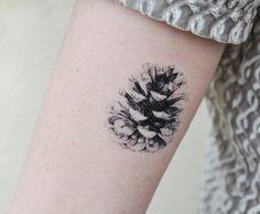 pinecone triangle tattoo - Google Search