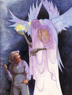 The angel and the porch light #WelcomeToNightVale #OldWomanJosie
