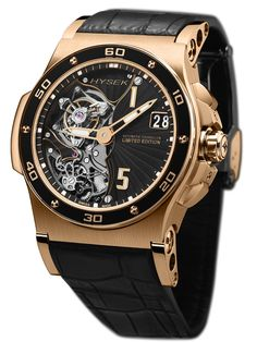 Hysek Abyss 44mm Automatic Tourbillon Rose Gold on Watch Agora