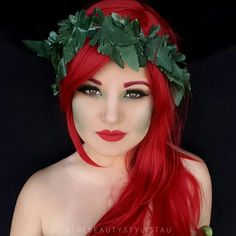 Poison Ivy Halloween Makeup                                                                                                                                                                                 More