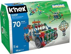 K'NEX 70 Model Building Set – 705 Pieces – Ages 7+ Engineering Education Toy - Toys 4 My Kids