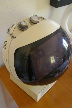 JVC NIVICO vintage space-age TV