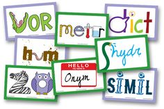 Greek & Latin Roots :  Word cards that show the meaning of the root within the word!