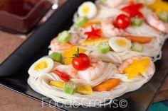 food&crafts: Tanabata somen - Spaghetti estivi giapponesi per la festa delle stelle