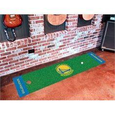 Golden State Warriors Indoor Golf Putting Green