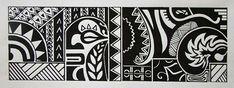 Ilustração em caneta nanquim.Desenho manual, sem tratamento.Estilo Maori.