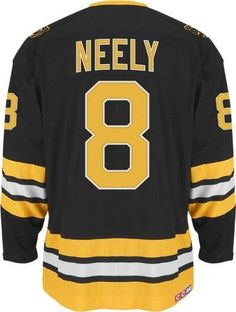 Ccm Boston Bruins Cam Neely Team Classic Vintage Jersey Extra Large by Reebok. $169.95. You'll honor one of the game's all-time greats every time you wear this Heroes of Hockey Jersey from CCM. Features embroidered team logo with applique twill on chest and, where applicable, on shoulders, plus layered twill player name, back and sleeve numbers. Double layered Air Knit shoulder construction for comfort and durability and CCM embroidered patch on the back. Official...