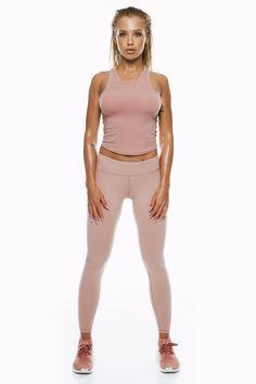 Dusty Pink Crop Top – Saski Collection