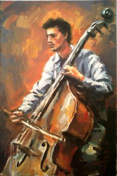 Double Bass 3  20x30cm 2012 - Pinterest
