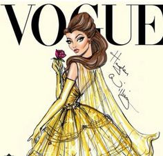 If disney was on Vogue...i wish this was a thing.