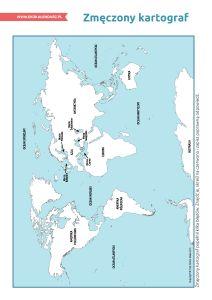 Światowy Dzień Oceanów – pakiet edukacyjny: Zmęczony kartograf Geo, World, The World