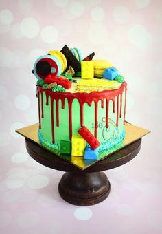 Lego Cake - Cake by Joonie Tan