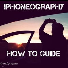 I thought I'd start a series of posts to help those perhaps starting out with iPhoneography. If want to capture those special moments with the closest Camera you almost always have on you, if you're like me it will be you phone.