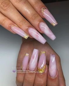 How to choose your fake nails? - My Nails Hot Nails, Swag Nails, Perfect Nails, Gorgeous Nails, Stylish Nails, Trendy Nails, Rose Quartz Nails, Gel Nails French, Manicure Y Pedicure