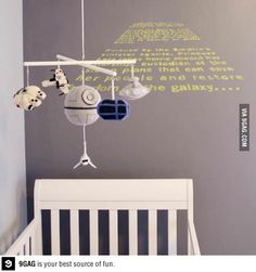 A long time ago in a nursery far, far away..
